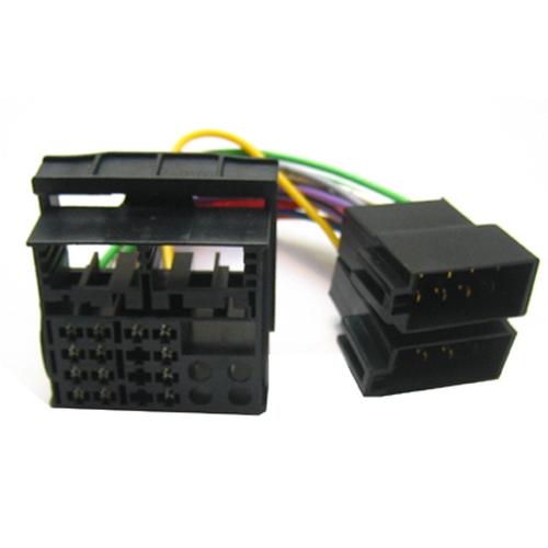 Original OEM Radio Adapterkabel Adapter Audi VW Skoda Seat Quadlock ISO
