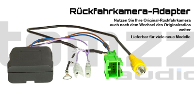 Neue Adapter für Rückfahrkamera lieferbar - Neue Adapter für Rückfahrkamera lieferbar