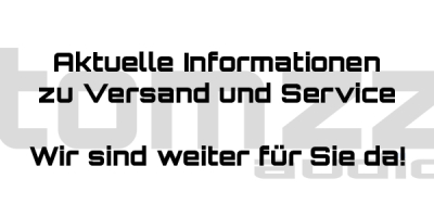 Aktuelle Informationen zu Versand und Service - Aktuelle Informationen zu Versand und Service