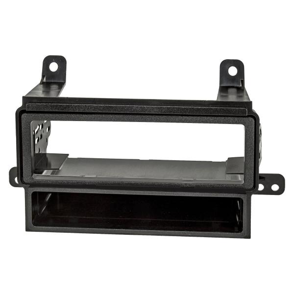 Doppel DIN 1DIN Radioblende kompatibel mit Nissan Pathfinder Navara Xterra schwarz