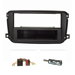 Radioblende (Set) für Smart fortwo 451 Facelift ab...