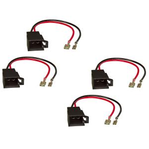 Lautsprecheradapter (4er Set) auf DIN kompatibel mit...