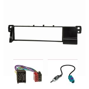 Radioblende kompatibel mit BMW 3er E46 ISO Adapterkabel...