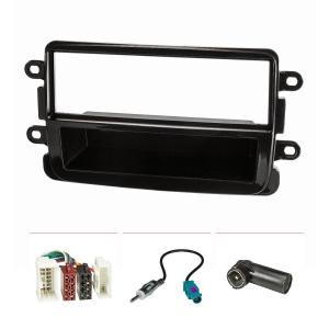 Radioblende Set kompatibel mit Dacia Lodgy Dokker Duster...