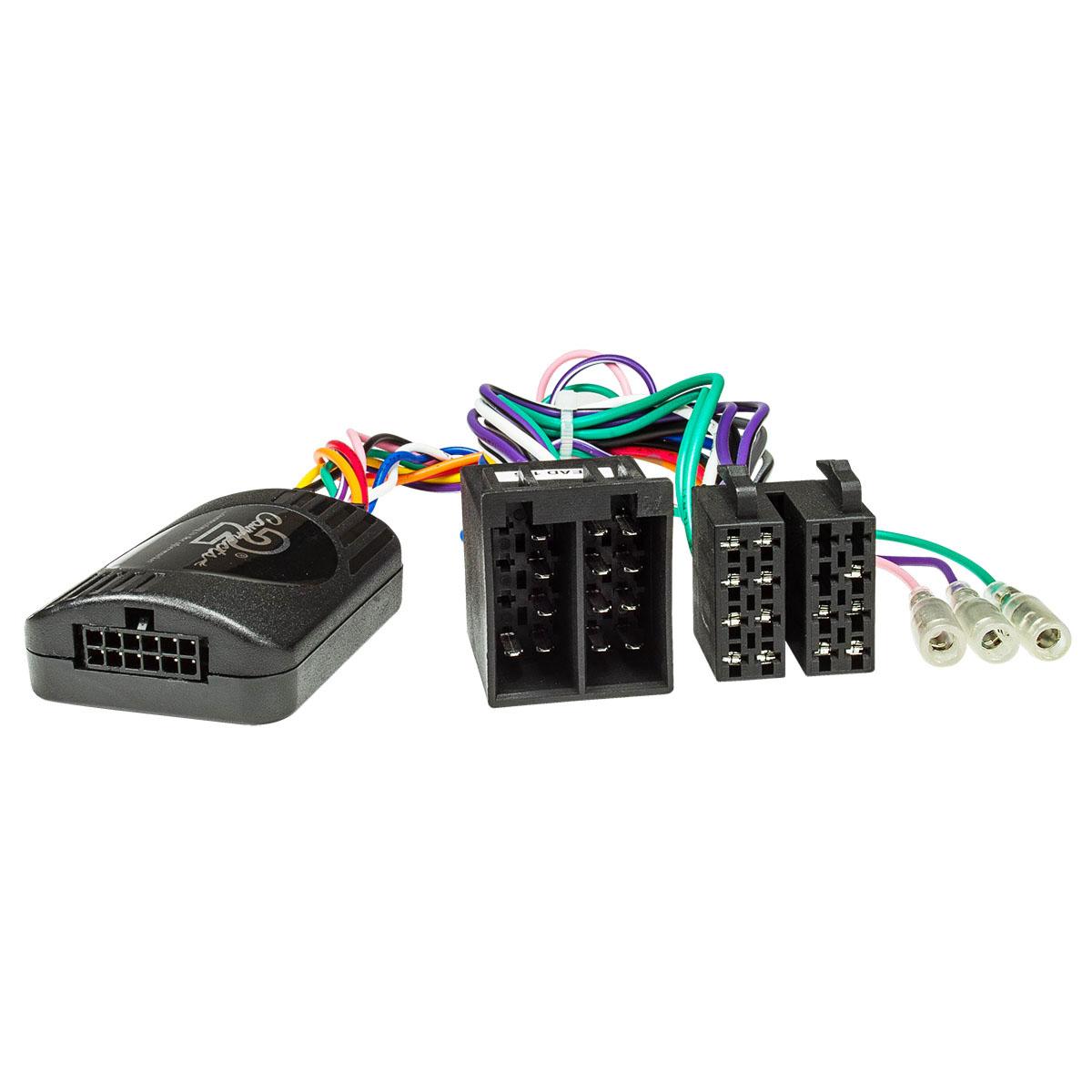 ISO-Adapter auf Fiat 500L