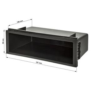 Ablagefach Schacht Kunststoff mit Auflagekante Höhe...