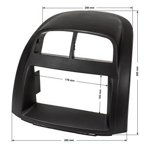 Doppel DIN Radioblende kompatibel mit Daihatsu Sirion...