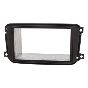 Doppel DIN Radioblende Set für Smart fortwo 451 Facelift...