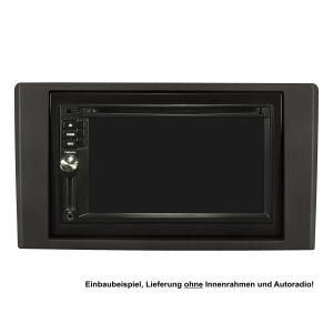 Doppel DIN Radioblende für Iveco Daily 2007-2014 schwarz