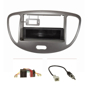 Doppel DIN 1DIN Radioblende Set kompatibel mit Hyundai...