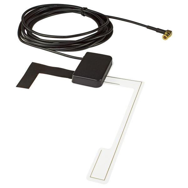 DAB Antenne Auto Scheiben Antenne DAB+ SMB Buchse Glas Klebemontage kompatibel mit Blaupunkt Pioneer Sony Kenwood Alpine JVC uva