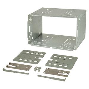 2DIN Doppel DIN Metal Rahmen Einbauschacht Radioblende...