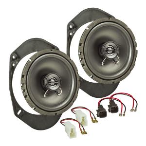 Lautsprecher Einbau-Set kompatibel mit Ford Fiesta KA...