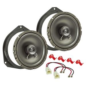 Lautsprecher Einbau-Set kompatibel mit Fiat 500 Grande...