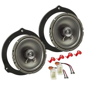 Ford Ka Sinustec Flach Lautsprecher 165mm Koax Vordere oder Hintere T/üren ab 09