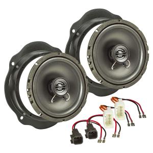 Lautsprecher Einbau-Set kompatibel mit Ford Focus C-Max...