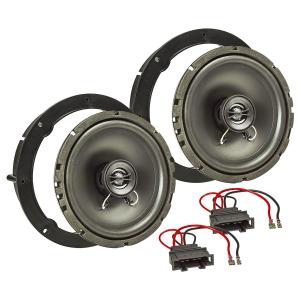 Lautsprecher Einbau-Set kompatibel mit VW Golf 4 5 6 7...