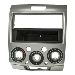 Mazda BT-50 2-DIN Radioblende Ford Ranger silber