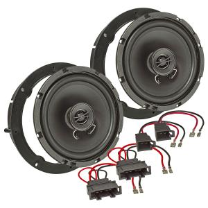 Lautsprecherringe Adapter Set für Seat Mii ab 2012 Türen vorne 165mm
