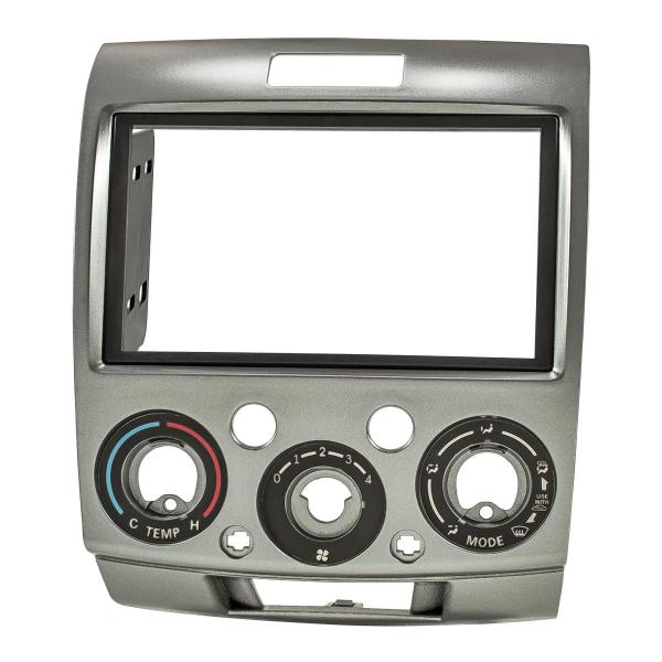 Doppel DIN Radioblende kompatibel mit Mazda BT-50 / Ford Ranger 2006 bis 2012