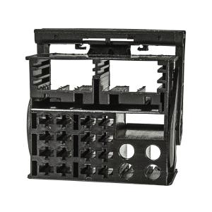 Quadlock Stecker Gehäuse Montage Set inclusive 16...