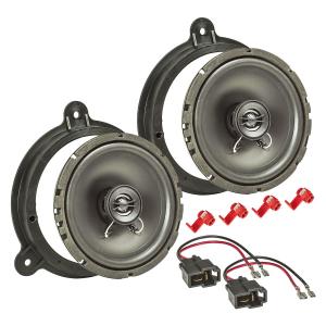 Lautsprecher Einbau-Set kompatibel mit Nissan Micra Note...