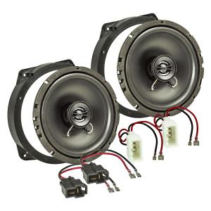 Lautsprecher Einbau-Set kompatibel mit BMW Mini 1+2...