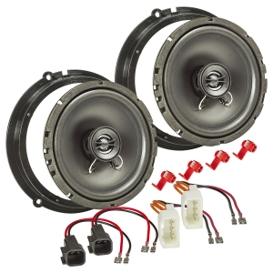 Lautsprecher Einbau-Set kompatibel mit Ford Fiesta B-Max...
