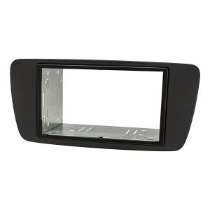 für SEAT Ibiza ST 6J 6JN Auto Radio Blende Einbau Rahmen 1-DIN schwarz