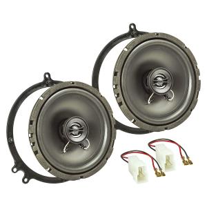 Lautsprecher Einbau-Set kompatibel mit Audi A6 C5 C6...