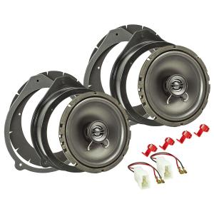 Lautsprecher Einbau-Set kompatibel mit Audi A3 8P A4 B6...