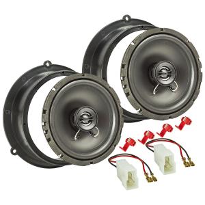 Lautsprecher Einbau-Set kompatibel mit Audi A3 A4 A5 A6...