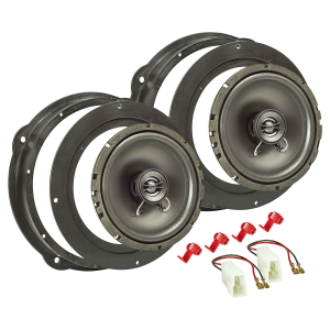 Lautsprecher Einbau-Set kompatibel mit Audi A1 A3 A4 A5...