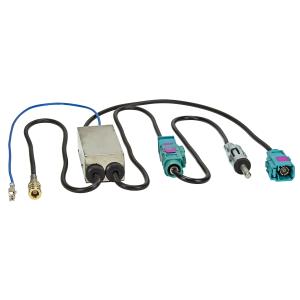 DAB+ UKW AM Antennen Splitter Adapter SMB (F) Buchse...