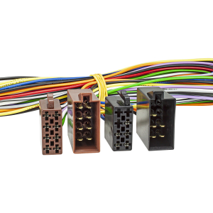 Radio-Adapterkabel ISO Verlängerung Strom +...