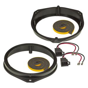 Lautsprecherringe Adapter + Kabel kompatibel mit Opel...