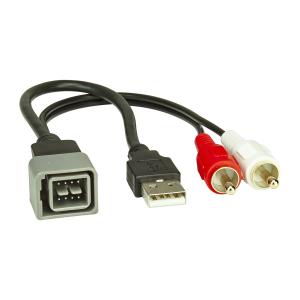 USB+AUX Replacement Austausch Adapter kompatibel mit...