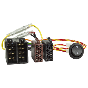 Radio-Adapterkabel ISO-ISO Strom + Lautsprecher mit...