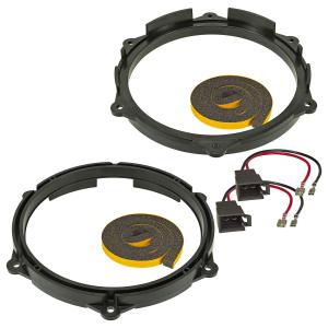 Lautsprecherringe Adapter + Kabel Schaumstoff kompatibel...
