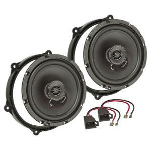Lautsprecher Einbau-Set kompatibel mit Seat Ibiza 6J 6P...