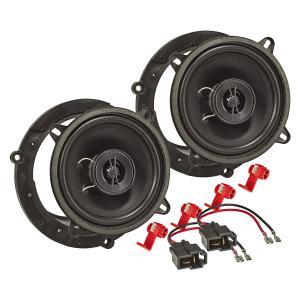 Lautsprecher Einbau-Set kompatibel mit Mazda 2 3 323...