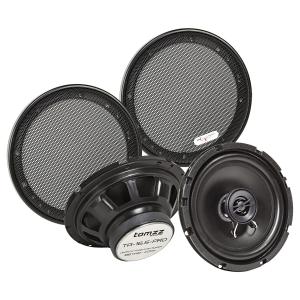 Koaxial Lautsprecher Set 165mm 100 Watt inkl. Gittersatz...