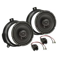 Lautsprecher Einbau-Set kompatibel mit Citroen Berlingo Peugeot Partner 165mm Koaxial System TA16.5-Pro