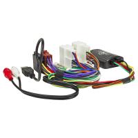 Lenkradfernbedienungsadapter kompatibel mit Hyundai i40 Santa Fe i800 IX45 Sonata Tucson USB AUX
