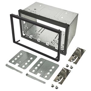2DIN Doppel ISO DIN Metal Rahmen Einbauschacht...