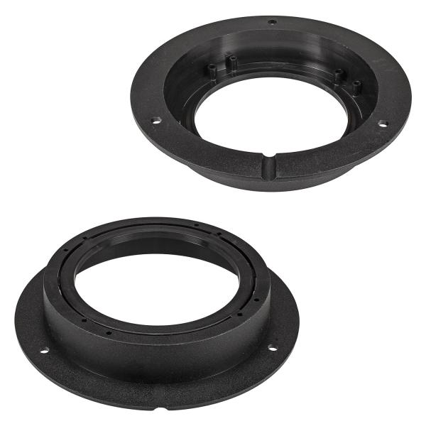 Lautsprecherringe Adapter Halterungen kompatibel mit Mercedes A-Klasse W169 B-Klasse W245 Tür hinten für 100mm oder 120mm DIN Lautsprecher