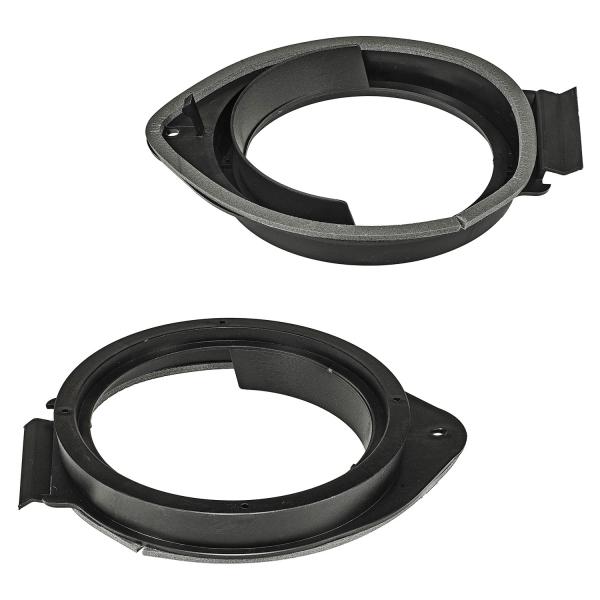 Lautsprecherringe Adapter Halterungen kompatibel mit Opel Astra Insignia ab 2009 Chevrolet Cruze Camaro Hummer diverse Einbauorte für 165mm DIN Lautsprecher