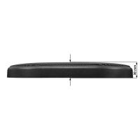 Lautsprecher Gitter Grill für 6 x 9 Zoll Lautsprecher schwarz 2-teilig Kunststoffring mit Metallgitter Satz
