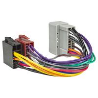 Radio Adapter Kabel kompatibel mit Chrysler ab 2001 Jeep ab 2001 Dodge ab 2001 auf 16pol ISO Norm