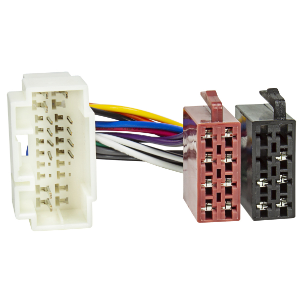 Radio Adapter Kabel kompatibel mit Honda Suzuki Fiat Sedici ab 2006 Opel Agila ab 2008 Nissan Pixo ab 2009 auf 16pol ISO Norm